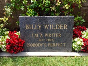 grave-billy wilder